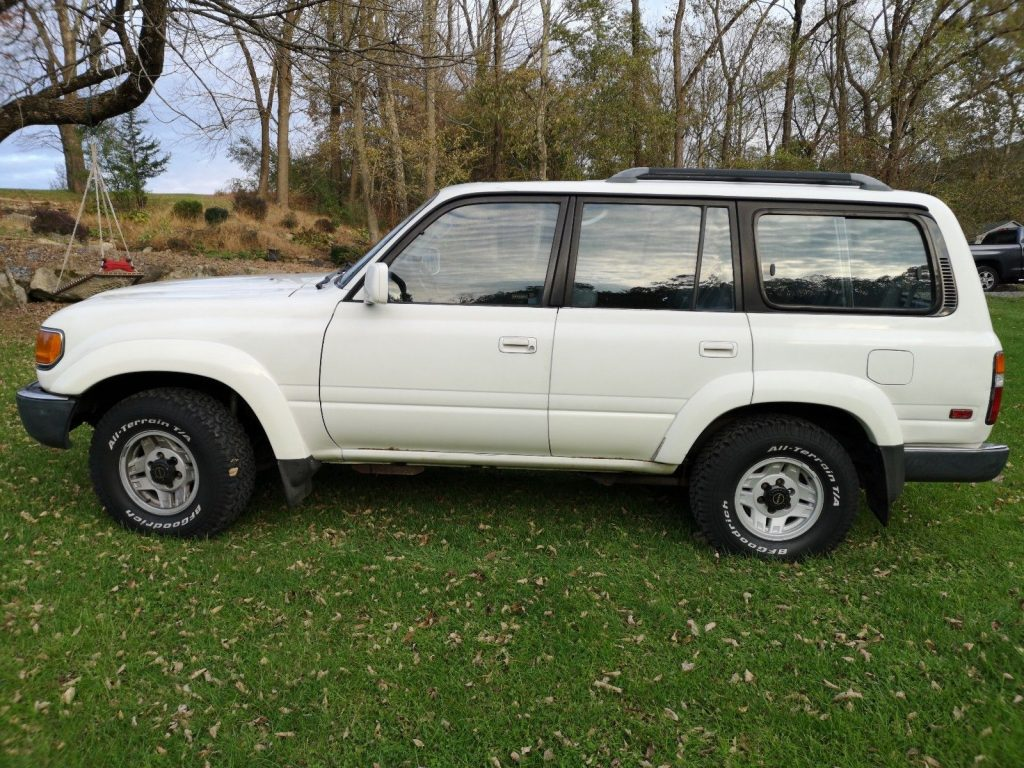 recently serviced parts 1992 Toyota Land Cruiser FJ80