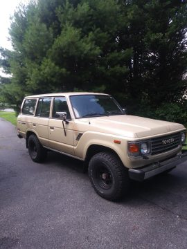 solid 1987 Toyota Land Cruiser FJ60 offroad for sale