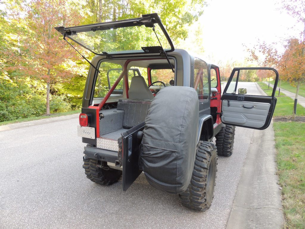 well modified 1983 Jeep CJ Renegade offroad