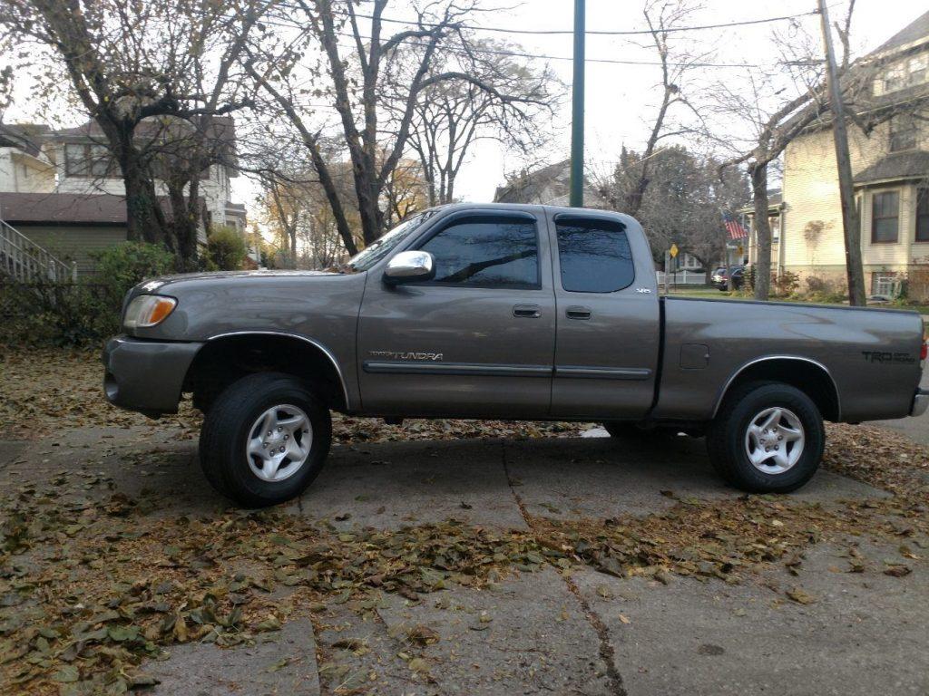 newer engine and trans 2003 Toyota Tundra SR5 V8 offroad