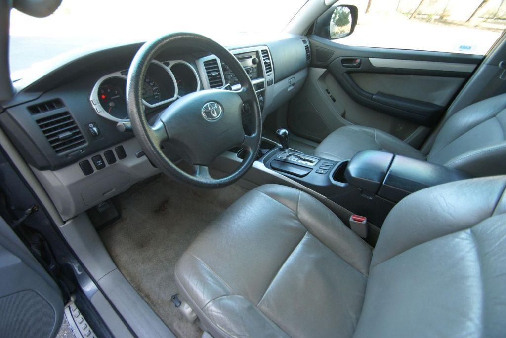 serviced 2004 Toyota 4runner SR5 offroad
