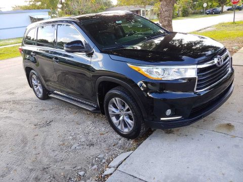 loaded 2014 Toyota Highlander XLE offroad for sale