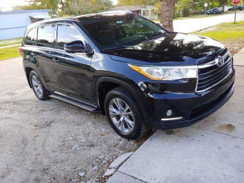 loaded 2014 Toyota Highlander XLE offroad for sale