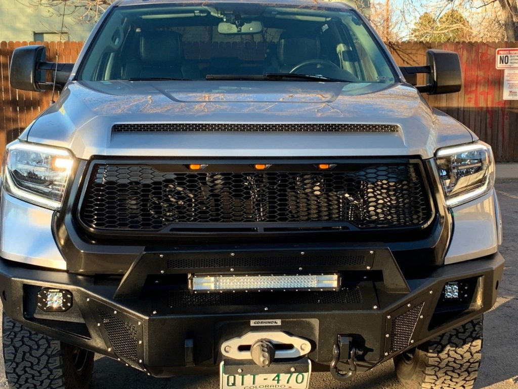 loaded 2014 Toyota Tundra Limited offroad