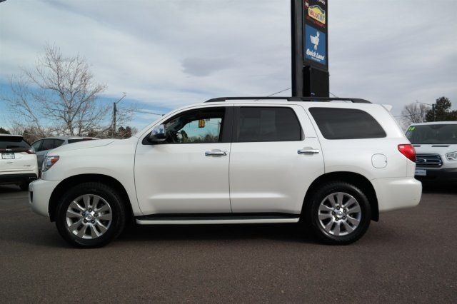 loaded 2015 Toyota Sequoia Platinum offroad