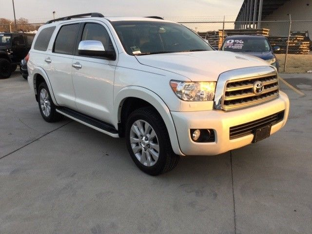 loaded with goodies 2015 Toyota Sequoia Platinum offroad