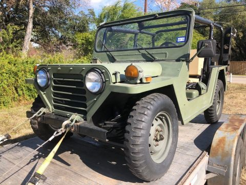 Restored 1987 Jeep M151 A2 offroad for sale