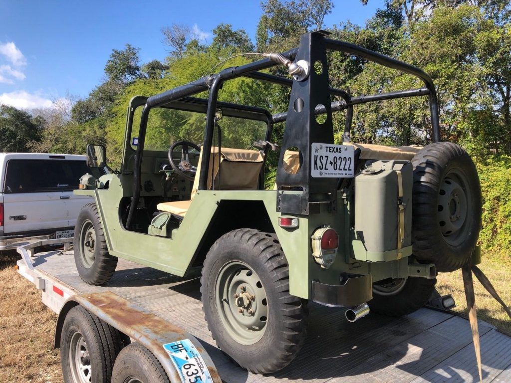 Restored 1987 Jeep M151 A2 offroad