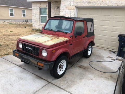 solid 1988 Suzuki Samurai offroad for sale