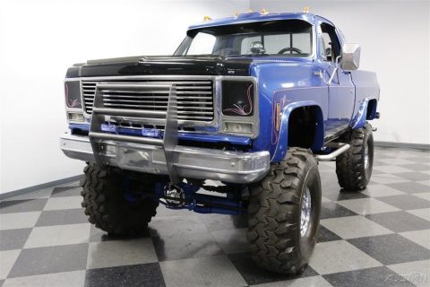 very nice 1978 Chevrolet K 10 Scottsdale offroad for sale