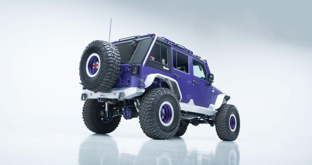 well modified 2017 Jeep Wrangler Rubicon offroad