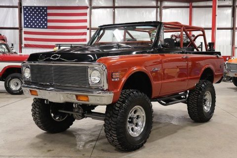 badass 1972 Chevrolet Blazer K5 offroad for sale