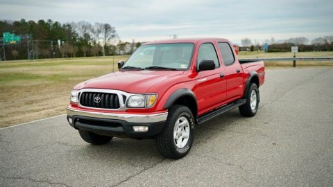 clean 2004 Toyota Tacoma Double Cab Pre Runner TRD V6 offroad for sale