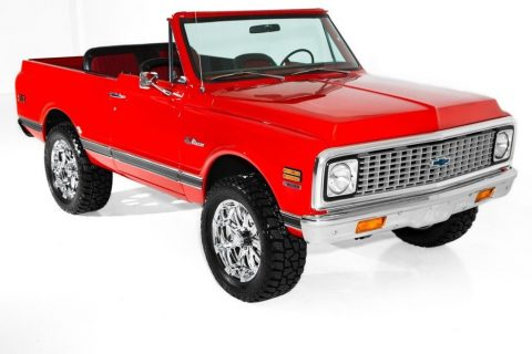 custom 1972 Chevrolet Blazer Houndstooth 4 Speed offroad for sale