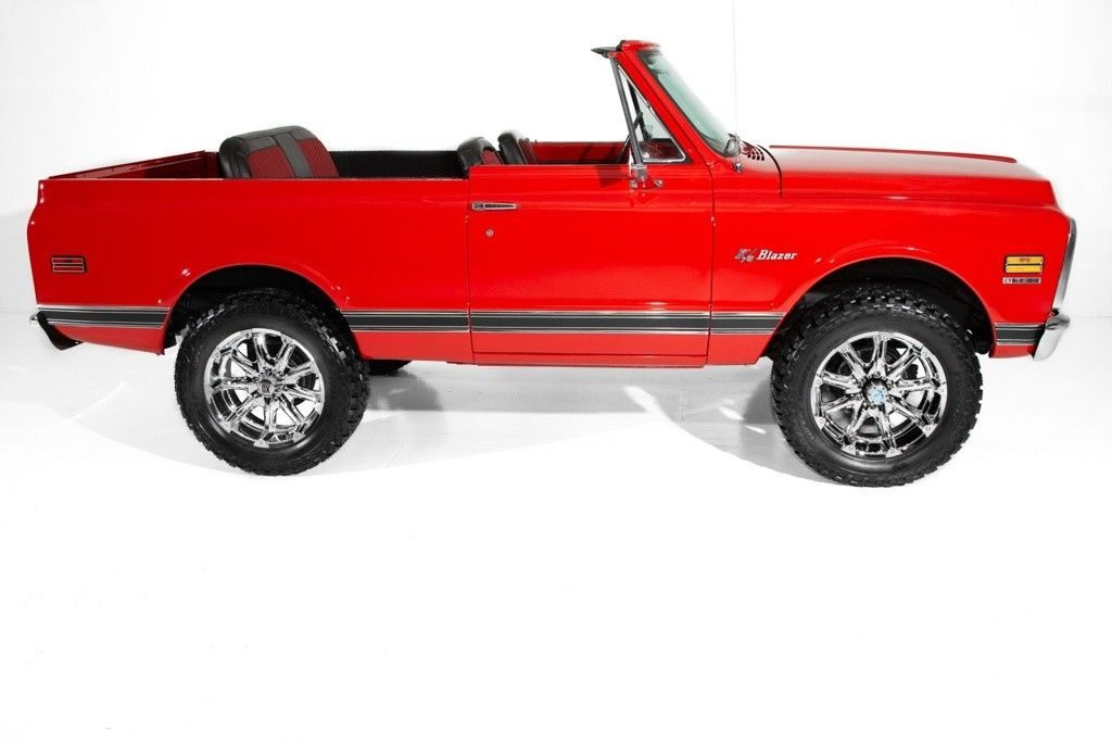 custom 1972 Chevrolet Blazer Houndstooth 4 Speed offroad