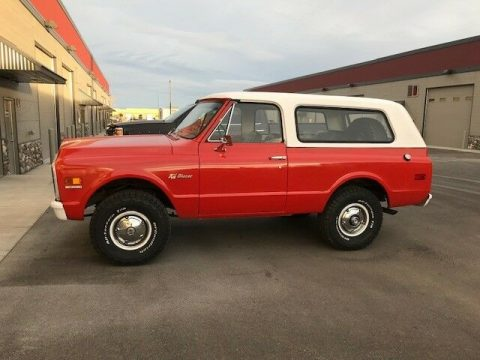 renewed 1972 Chevrolet Blazer K5 offroad for sale