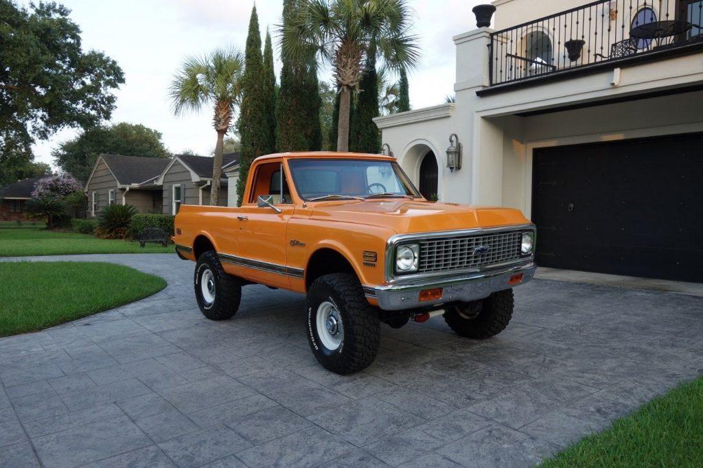 restored 1972 Chevrolet K5 Blazer CST offroad