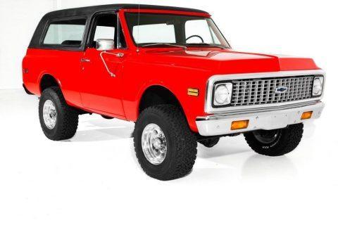 very nice 1972 Chevrolet Blazer K5 offroad for sale