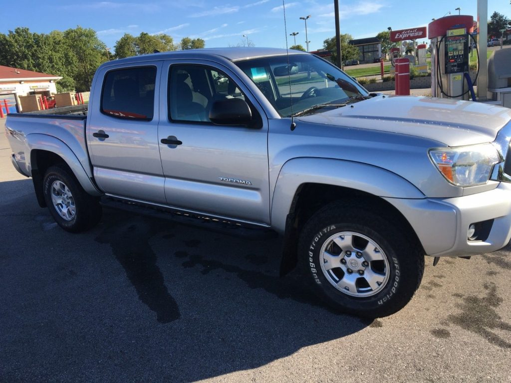 well equipped 2012 Toyota Tacoma TRD Offroad