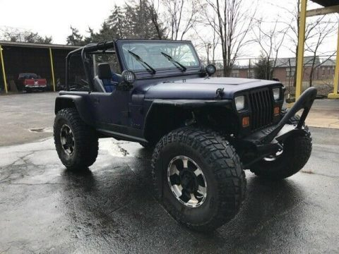 customized 1991 Jeep Wrangler offroad for sale