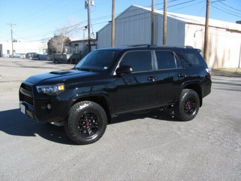 low miles 2018 Toyota 4runner TRD Pro offroad for sale