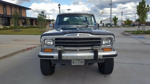 new paint 1990 Jeep Wagoneer offroad for sale