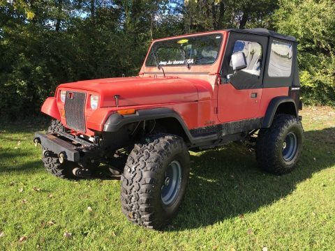 new soft top 1990 Jeep Wrangler offroad for sale