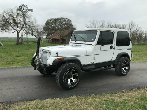 pampered 1991 Jeep Wrangler S Hardtop offroad for sale