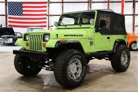 rebuilt engine 1990 Jeep Wrangler Sport offroad for sale