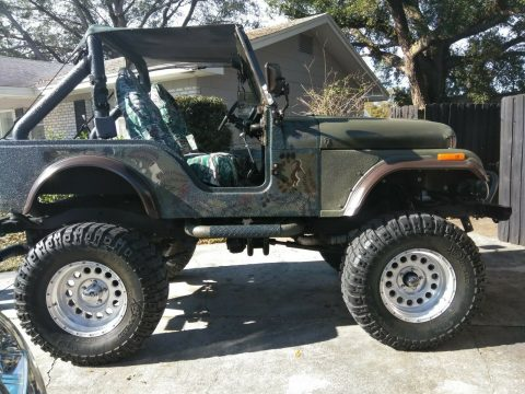 restored 1976 Jeep CJ 5 offroad for sale