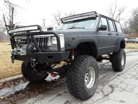 rock crawler 1990 Jeep Cherokee Laredo offroad for sale