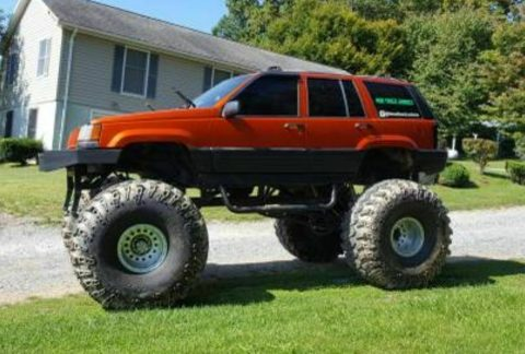 custom monster 1995 Jeep Grand Cherokee offroad for sale