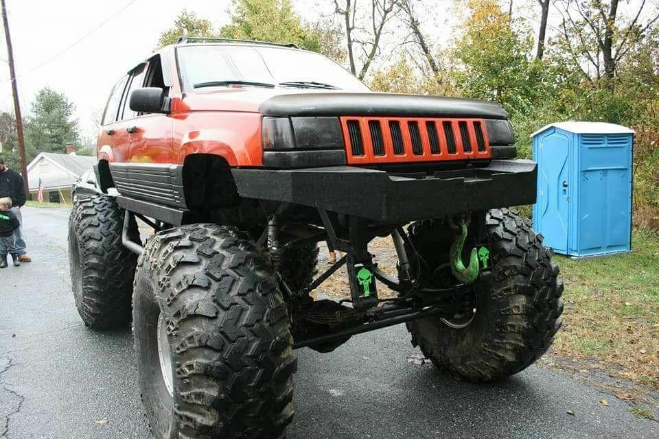 custom monster 1995 Jeep Grand Cherokee offroad