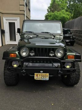 garage kept 1998 Jeep Wrangler offroad for sale