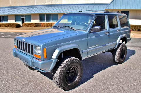 low miles 1999 Jeep Cherokee offroad for sale