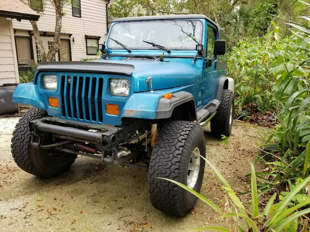 new parts 1994 Jeep Wrangler Black offroad