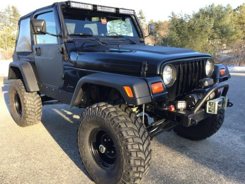 restored 1999 Jeep Wrangler new parts offroad for sale