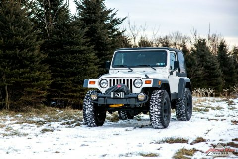 super clean 1999 Jeep Wrangler HEMI Rubicon offroad for sale