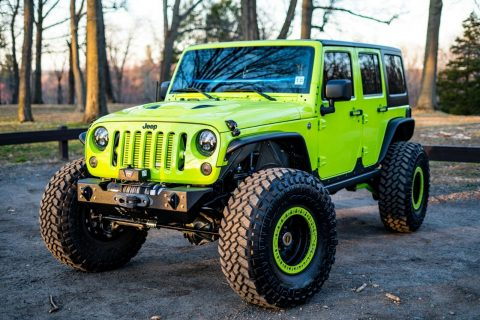 beautiful 2012 Jeep Wrangler offroad for sale