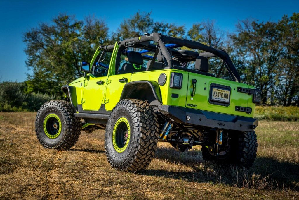 beautiful 2012 Jeep Wrangler offroad