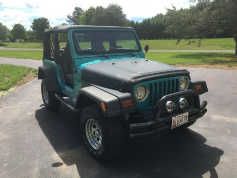 Custom V8 Conversion 1997 Jeep Wrangler (chevy 283) offroad for sale