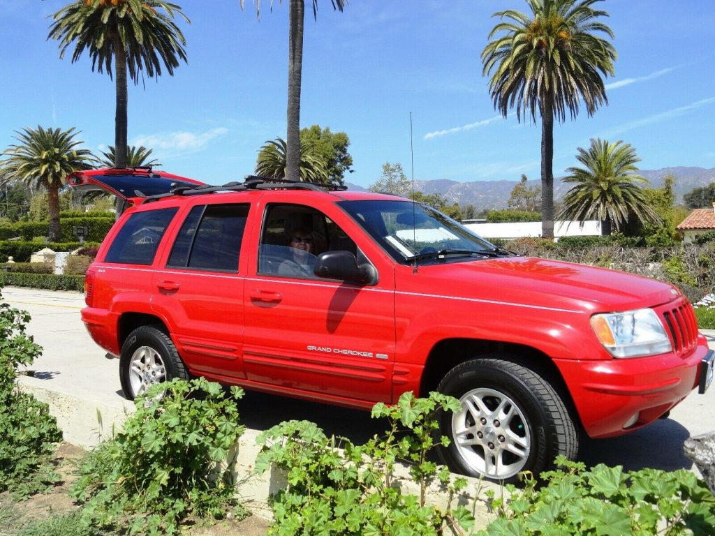 Loaded 1999 Jeep Grand Cherokee Limited offroad