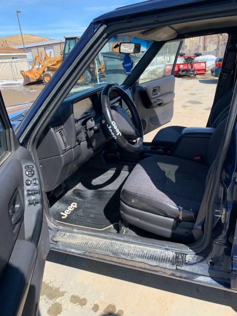 needs TLC 2000 Jeep Cherokee offroad