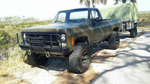 rust free 1985 Chevrolet M1008 CUCV Longbed pickup offroad for sale