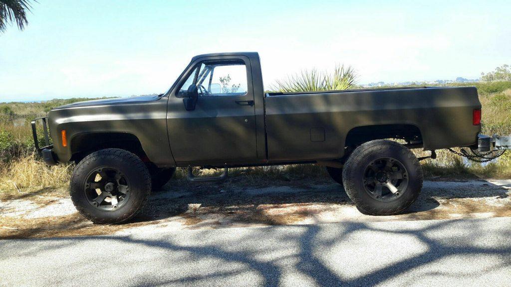 rust free 1985 Chevrolet M1008 CUCV Longbed pickup offroad