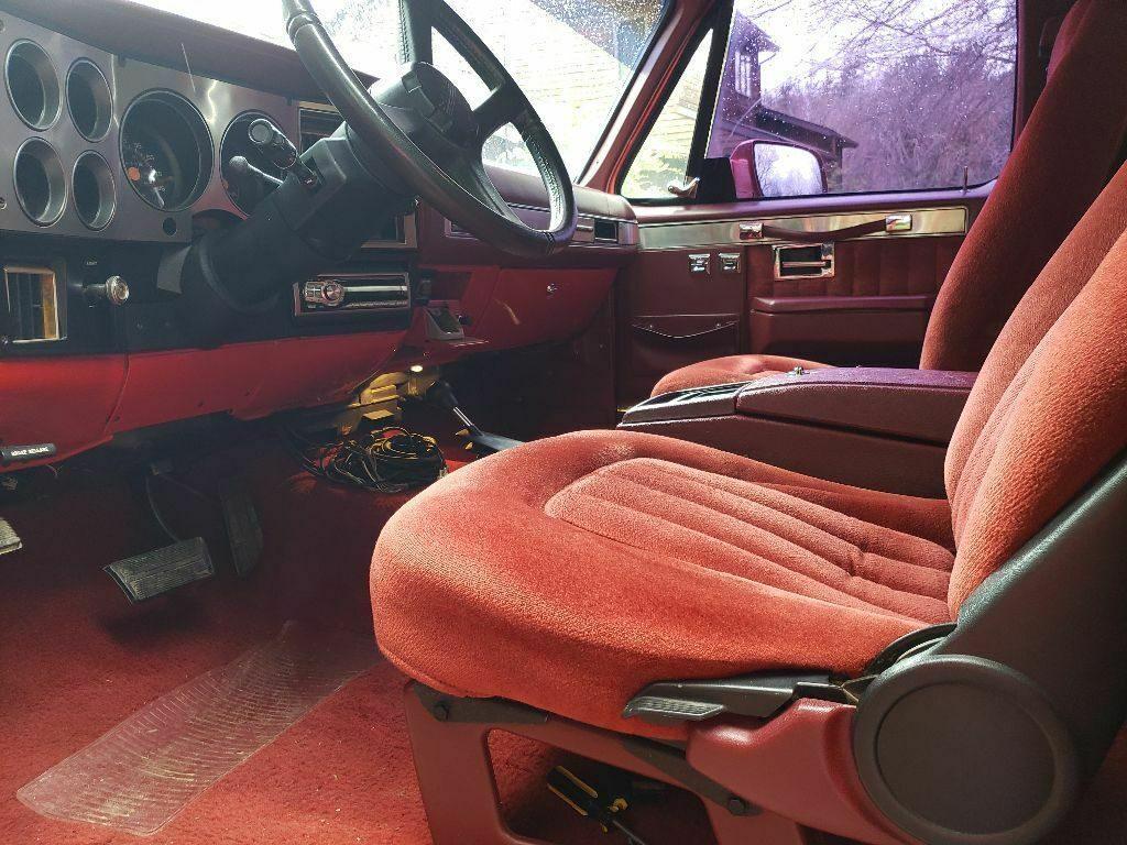 rust free 1991 Chevrolet Blazer K5 offroad