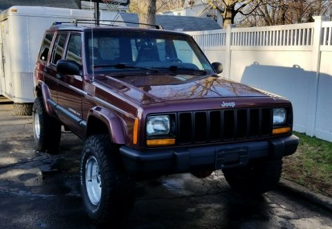 serviced 2000 Jeep Cherokee offroad for sale