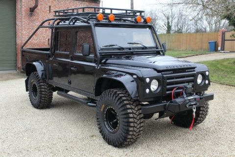 wonderful 1994 Land Rover Defender 130 Spectre 007 offroad for sale