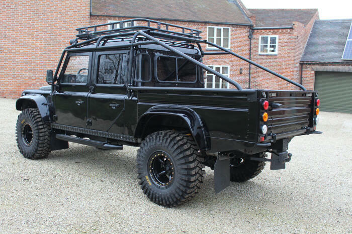 wonderful 1994 Land Rover Defender 130 Spectre 007 offroad