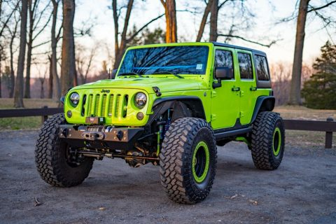 low miles 2012 Jeep Wrangler Rubicon offroad for sale